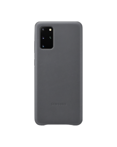 Samsung Galaxy S20+ Leather Cover-GRAY