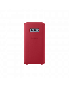 Samsung Galaxy S10e Leather Cover