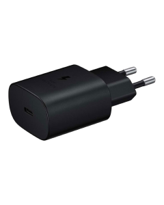 Samsung Travel Adapter Type-C 25W ( w/o cable )-BLACK