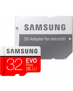 Samsung Micro SD Card EVO Plus (SD adapter)