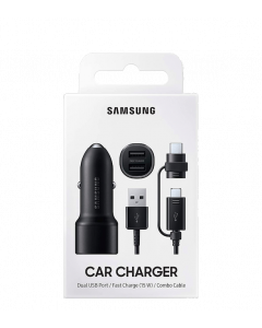 Samsung Dual Car Charger 15W